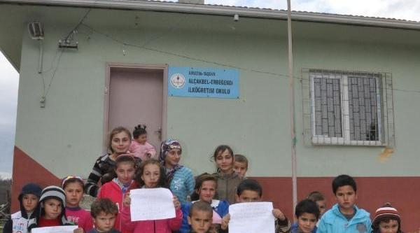 Köydeki Okul Kapandi,17 Öğrenci 2.5 Aydir Eğitim Göremiyor