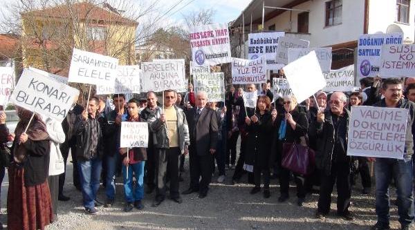 Köylülerden Hes Protestosu