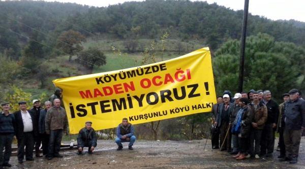 Köylülerin Karşı Çiktiği Madeninin İşletme Ruhsatı İptal Edildi