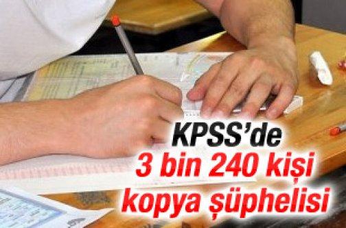 KPSS'de 3 bin 240 kişi kopya şüphelisi