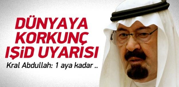 Kral'dan dünyaya IŞİD uyarısı