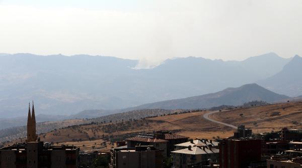 Küpeli Dağı'nda Yangın Çikti