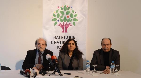 Kürkçü: Hdp İçin Seçim Güvenliği Ortadan Kalkmıştır