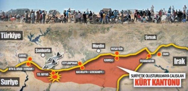 Kürt devleti kurmanın adımlarını atıyorlar