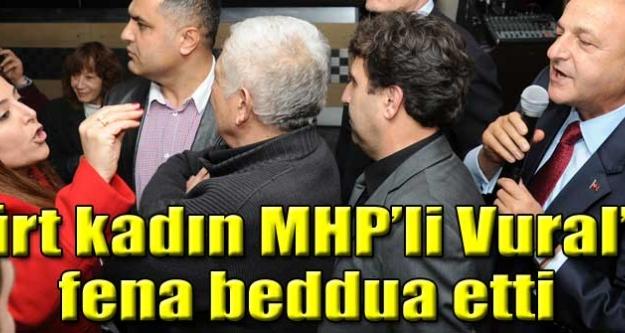 Kürt kadın MHP'li Vural'a beddua etti