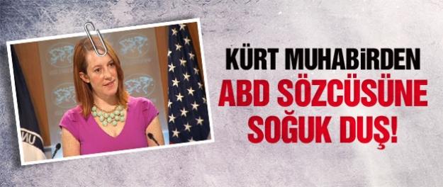 Kürt muhabirden ABD sözcüsüne Kobani şoku!