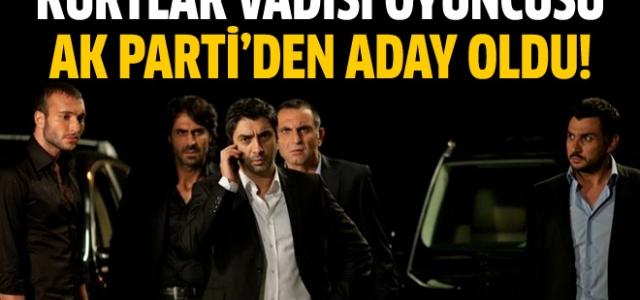 Kurtlar Vadisi oyuncusu AK Parti'den aday oldu !