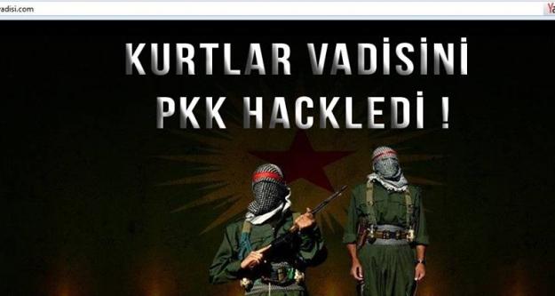 PKK'lı hackerler Kurtlar Vadisini hackledi