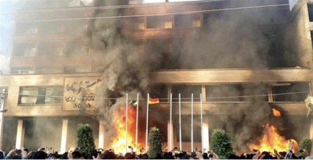 Kürtler ayaklandı şehri ateşe verdi!