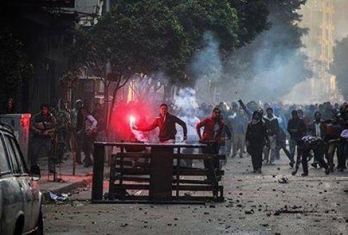 Kurtuluş'ta göstericiler 1 kişi vurdu!