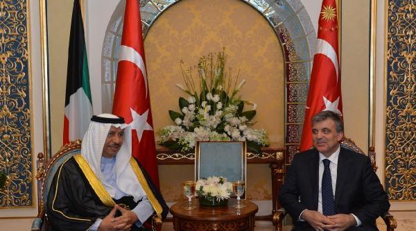 Kuveyt Emiri Şeyh El Sabah'tan Cumhurbaşkanı Gül Onuruna Akşam Yemeği