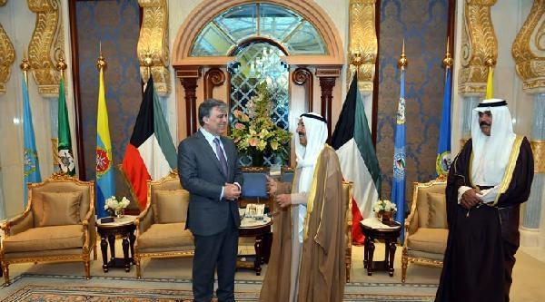 Kuveyt Emiri Şeyh El Sabah'tan Cumhurbaşkanı Gül Onuruna Akşam Yemeği (3)