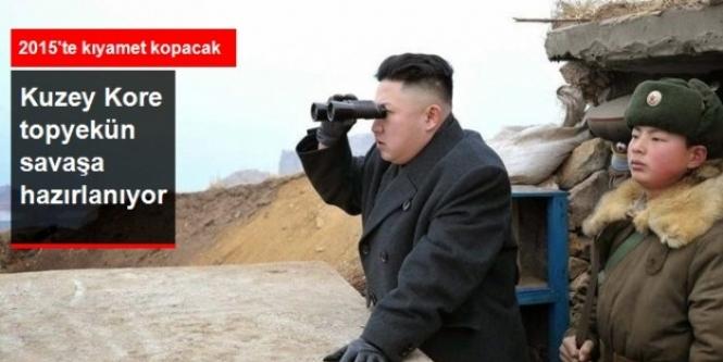 Kuzey Kore Topyekün Savaşa Hazırlanıyor