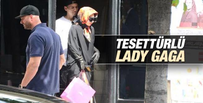 Lady Gaga'nın Nişantaşı'nda çekilen fotoğrafı
