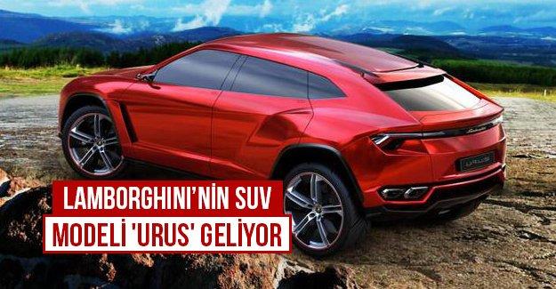 Lamborghini'nin SUV modeli 'Urus' geliyor...