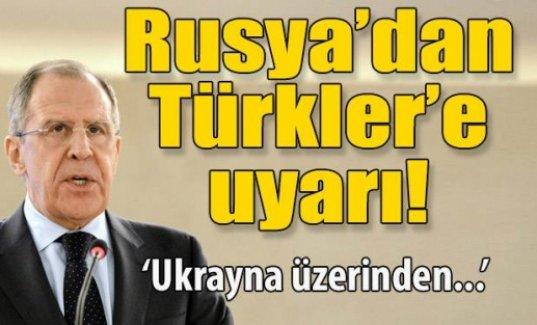 Lavrov: Türk heyeti, Kırım'a Ukrayna üzerinden gitmemeli