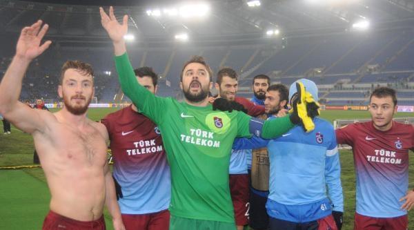 Lazio - Trabzonspor Maç Sonu Fotoğraflari