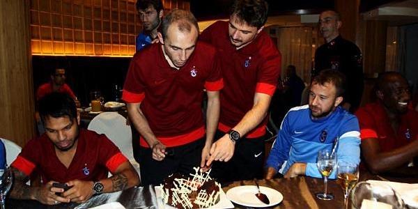 Legia Varşova - Trabzonspor Maçi Fotoğraflari