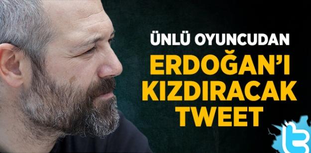 Levent Üzümcü'den Erdoğan'ı kızdıracak tweet...