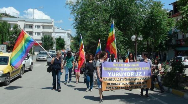 Lgbti Üyeleri Tunceli'de Yürüdü
