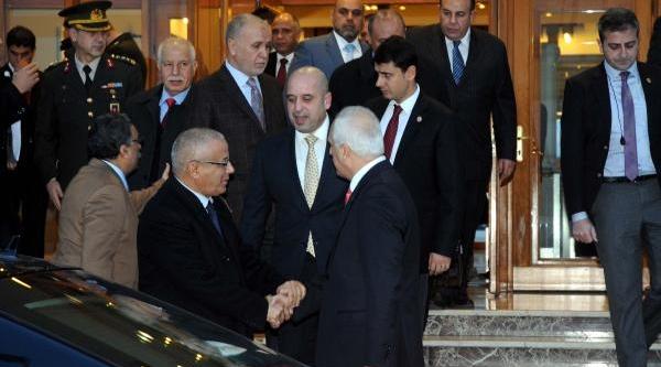 Libya Başbakani Zeydan Istanbul'Da