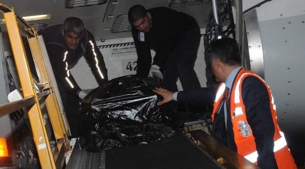 Libya'daki Saldirida Ölen Thy Çalişaninin Cenazesi Istanbul'a Getirildi