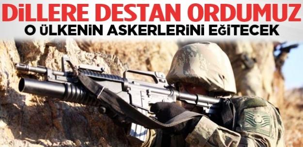Libyalı 3 bin asker Türkiye'de eğitilecek