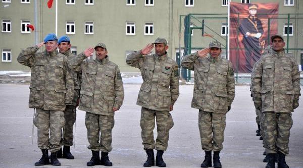Libyali Askerler Isparta'da Eğitimde