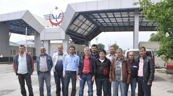 Liman İşçilerinden Ak Parti'li Aygün'ün