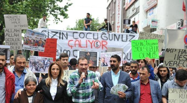 Liseli Gençlerden Kızılay'da Hükümet Karşıtı Protesto