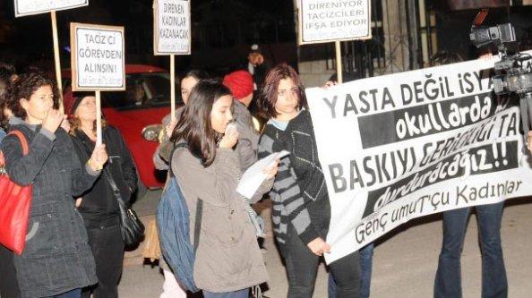 Liseli kızlardan tacizci öğretmen isyanı!