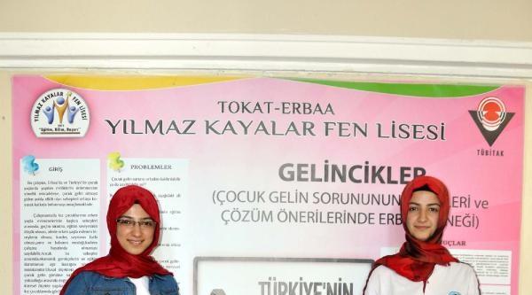 Liseli Kızların 'çocuk Evlilikleri' Projesi Birinci Oldu