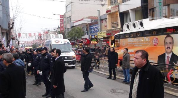Liselilerin Berkin Yürüyüşüne Polis Engeli