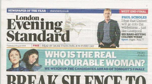 London Evening Standard: Cihatçı John'u  Bulmak İçin Sessizliğinizi Bozun