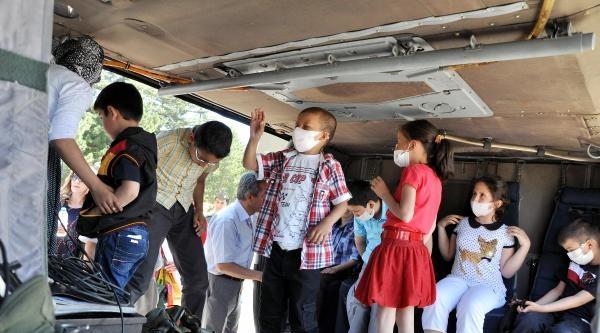 Lösemili Çocuklar İlk Kez Helikoptere Bindi