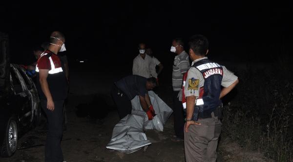 Lpg'li Otomobil Alev Topuna Döndü: 2 Ölü, 2 Yaralı