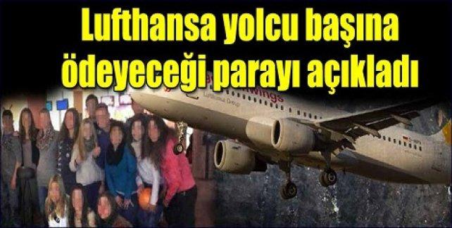 Lufthansa yolcu başına ödeyeceği parayı açıkladı!