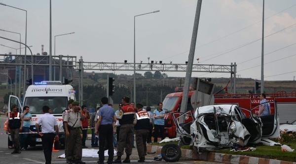Lüleburgaz'da Kaza: 4 Ölü, 2 Yaralı