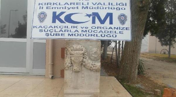 Lüleburgaz'da Tarihi Eser Kaçakçiliği Operasyonu: 5 Gözalti