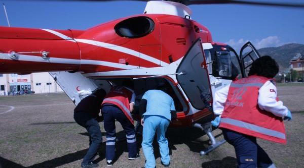 Maça Ambulans Helikopter Molası