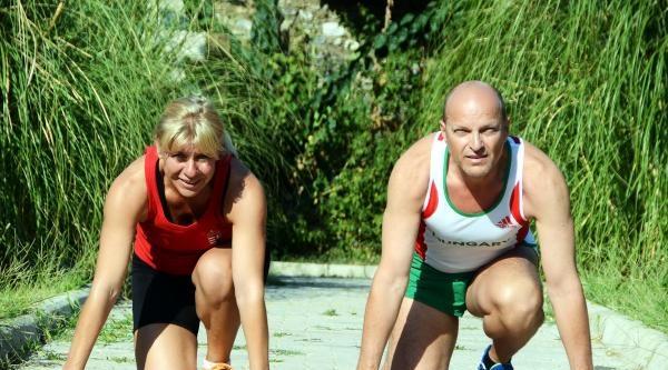 Macar Şampiyon Atlet Çift, Bodrum'da Kamp Yapıyor