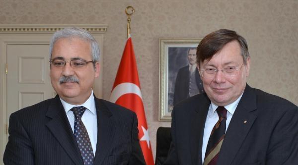 Macaristan Büyükelçisinden Muğla Valisine Ziyaret