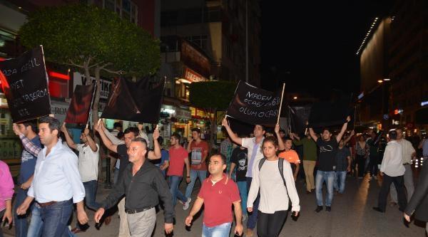 Maden Faciasına Adana'dan Protesto (2)