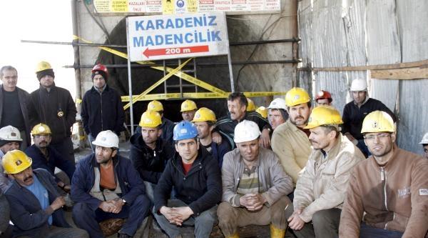 Maden Ocağı Kapatıldı, 130 İşçi Açlık Grevinde