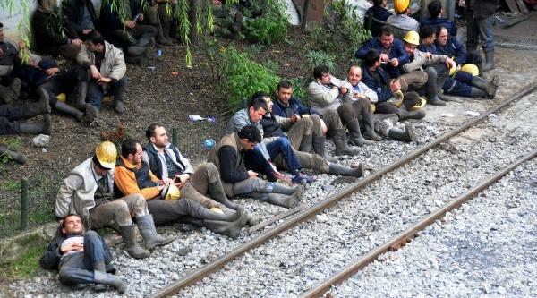 Maden Ocağinda Iş Güvenliği Eylemi (2)