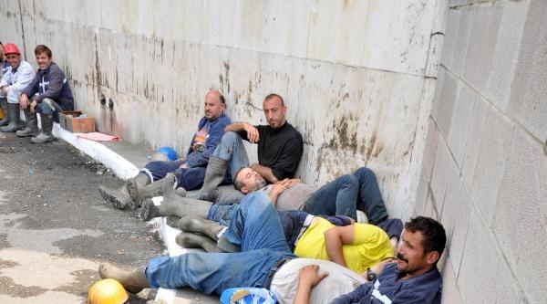 Maden Ocağının Kapatılacağı Endişesiyle Ttk'ya Yürüdüler (2)