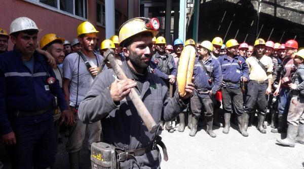Maden Ocağının Kapatılacağı İddiasina Tepki