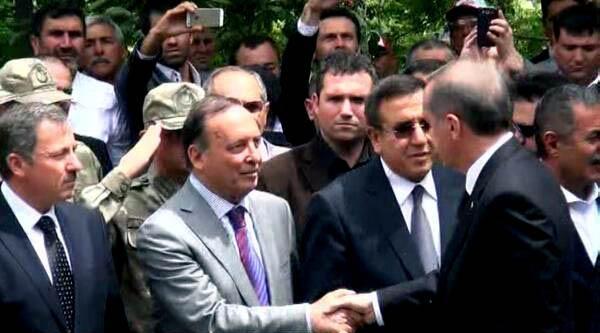 Maden Sahibi Gürkan Da Başbakan'ı Karşıladı