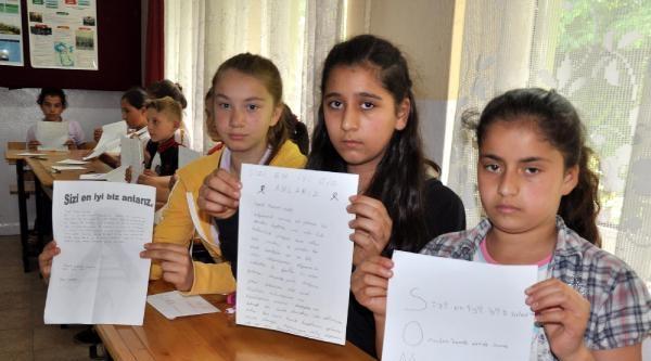 Madenci Çocuklarindan Soma'da Ölen Madencilerin Çocuklarina Mektup