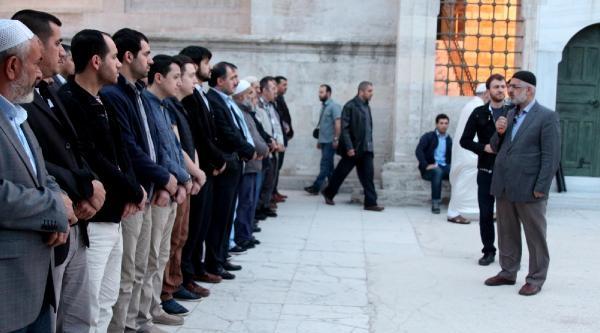 Madenciler İçin Fatih Camii'nde Gıyabi Cenaze Namazı Kılındı